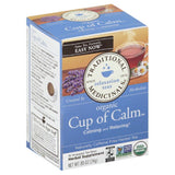 Traditional Medicinals Organic Cup of Calm Naturally Caffeine Free Tea Herbal, 16 Bg (Pack of 6)