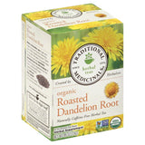 Traditional Medicinals Roasted Dandelion Root Naturally Caffeine Free Herbal Tea Tea Bags, 16 Bg (Pack of 6)