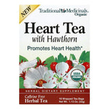 Traditional Medicinals Heart with Hawthorne Organic Herbal Tea, 16 BG (Pack of 6)