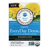 Traditional Medicinals Wrapped Tea Bags Dandelion EveryDay Detox Detox Teas, 16 ea (Pack of 6)