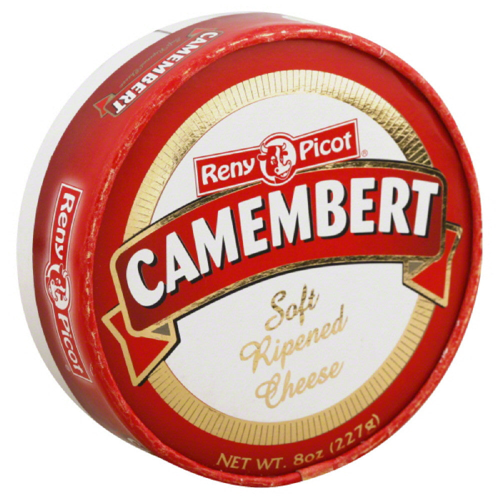 Reny Picot Camembert Soft Ripened Cheese, 8 Oz (Pack of 6)