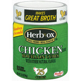 HERB-OX Chicken 25 Ct Bouillon Cubes 3.33 OZ  (Pack of 12)