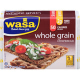 Wasa Whole Grain Crispbread 9.2 Oz Package (Pack of 12)