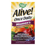 Natures Way Tablets Ultra Potency Women's Once Daily Multi-Vitamin & Whole Food Energizer, 60 ea