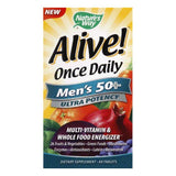 Natures Way Tablets Ultra Potency Men's 50+ Once Daily Multi-Vitamin & Whole Food Energizer, 60 ea