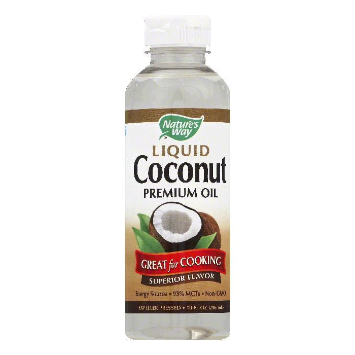 Natures Way Liquid Coconut, 10 OZ