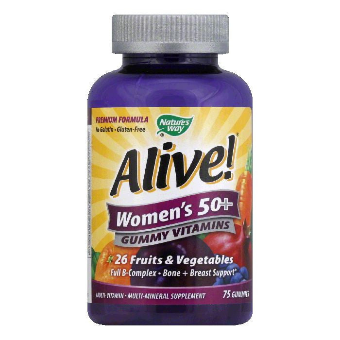 Natures Way Gummies Women's 50+ Vitamins, 75 ea