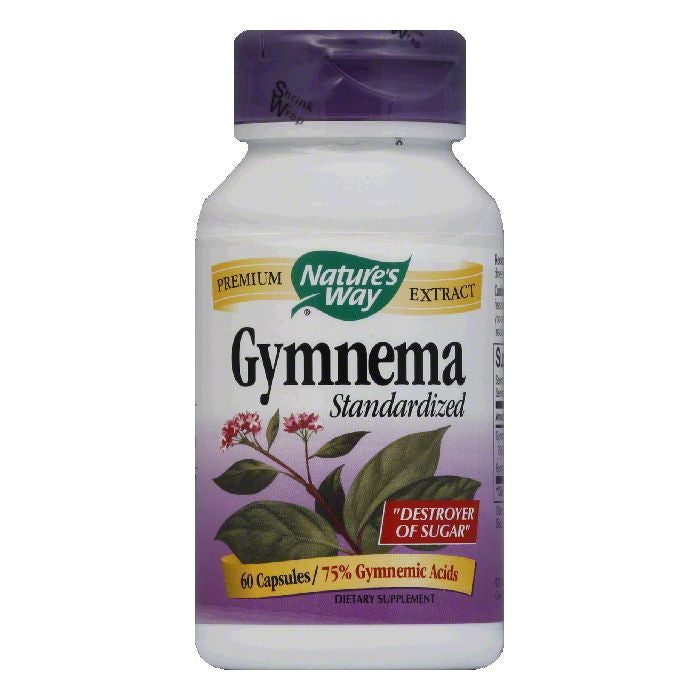 Natures Way Capsules Standardized Gymnema, 60 ea