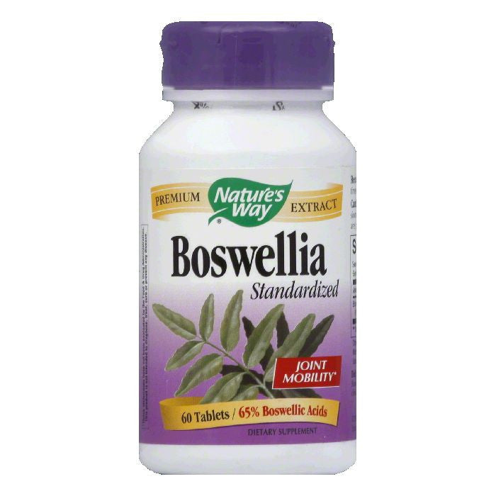 Natures Way Tablets Standardized Boswellia, 60 CP