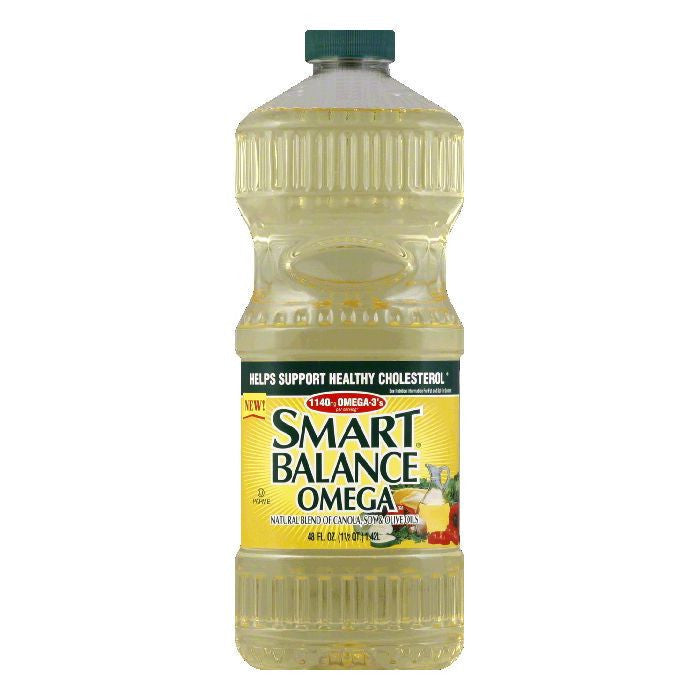 Smart Balance Omega Blend Oil, 48 OZ (Pack of 9)