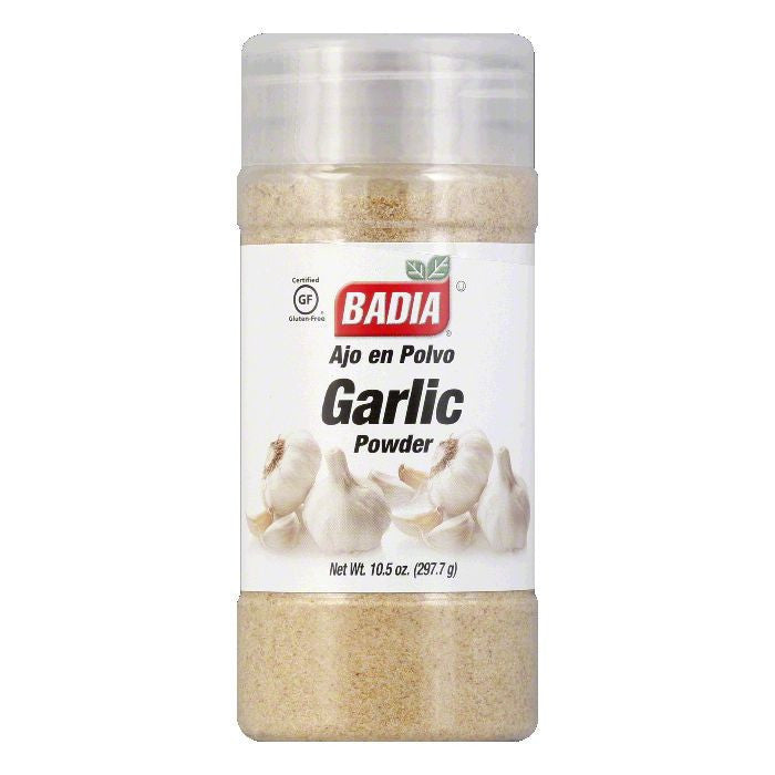 Badia Garlic Powder, 10.5 OZ (Pack of 12)