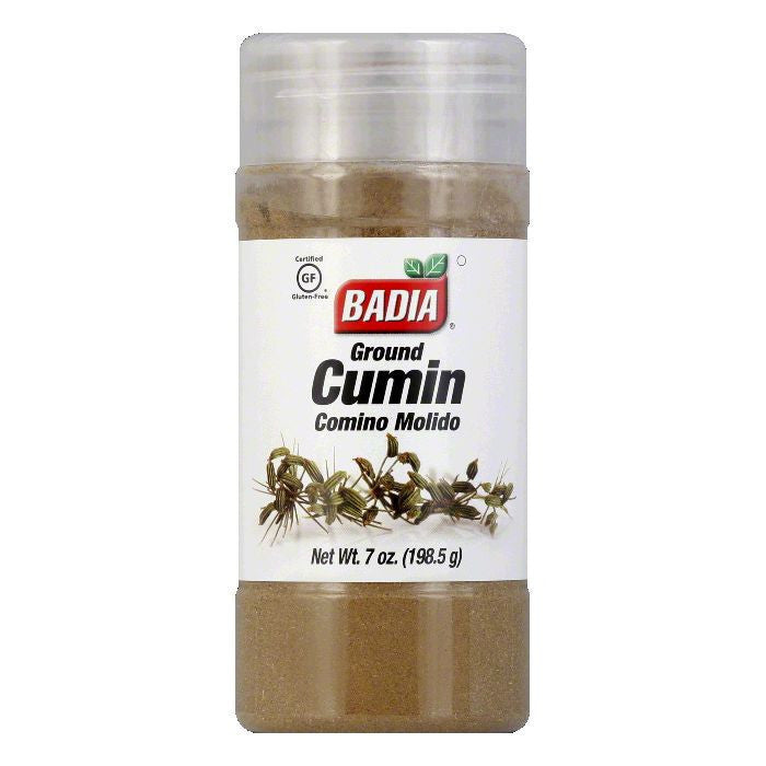 Badia Spices Cumin Ground, 7 OZ (Pack of 12)