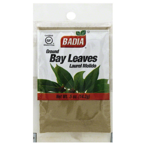 Badia Ground Bay Leaves, 0.5 Oz (Pack of 12)