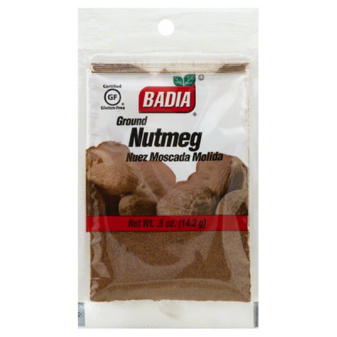 Badia Ground Nutmeg, 0.5 Oz (Pack of 12)