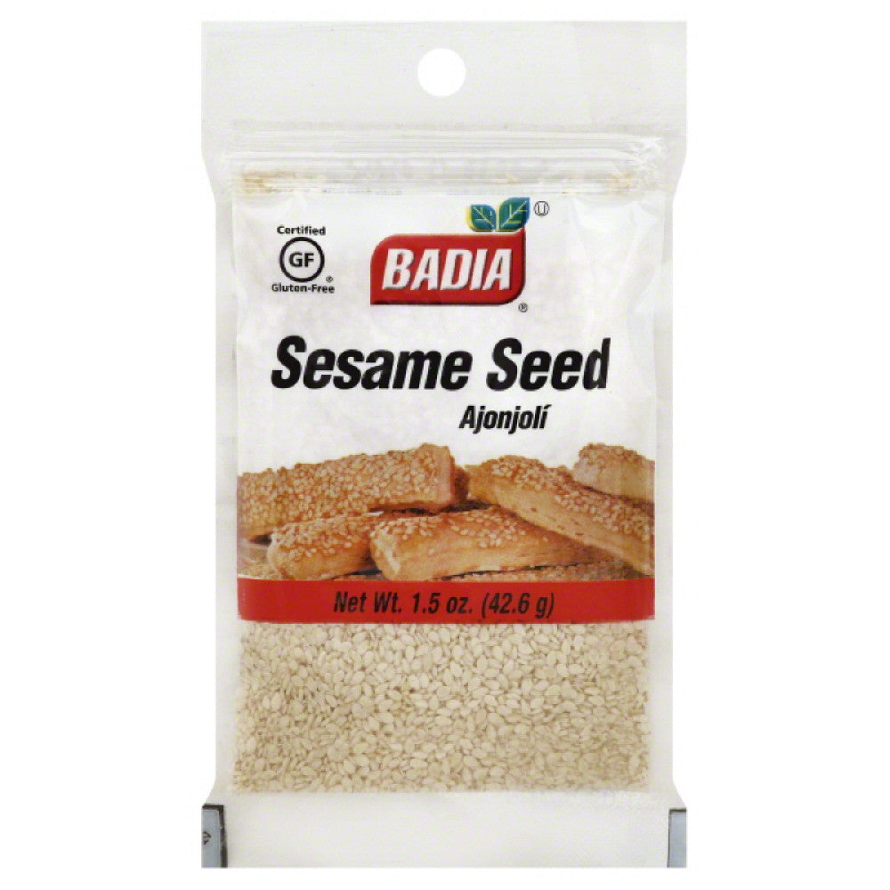 Badia Sesame Seed, 1.5 Oz (Pack of 12)