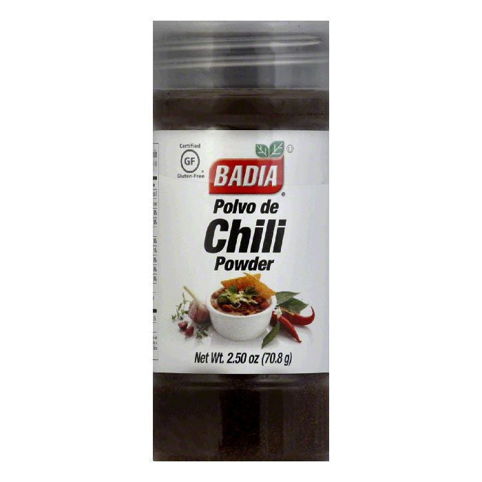 Badia Chili Powder, 2.5 OZ (Pack of 12)