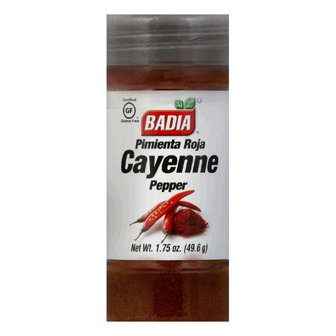 Badia Cayenne Pepper Ground, 1.75 OZ (Pack of 12)