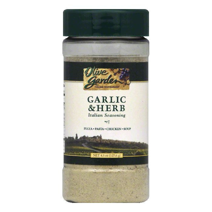 Olive Garden Garlic & Herb Italian Seasoning, 4.5 OZ (Pack of 12)