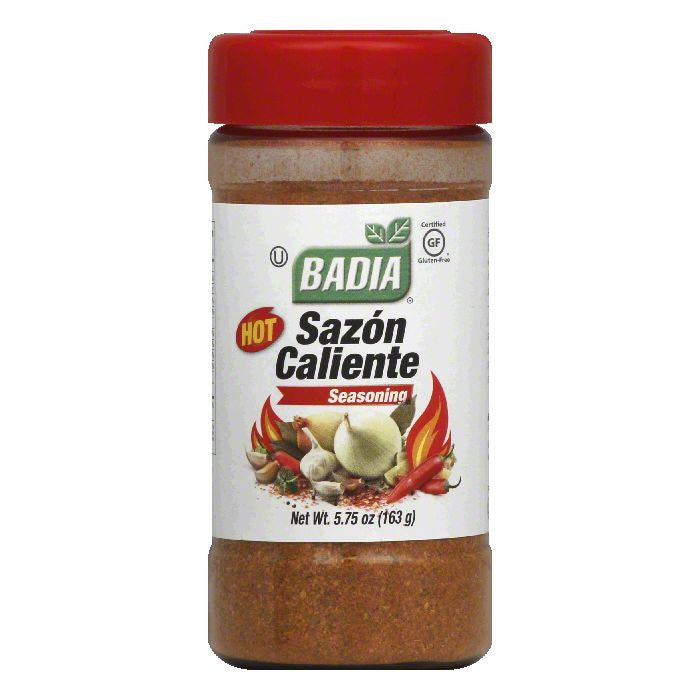 Badia Hot Sazon Caliente Seasoning, 5.75 OZ (Pack of 12)