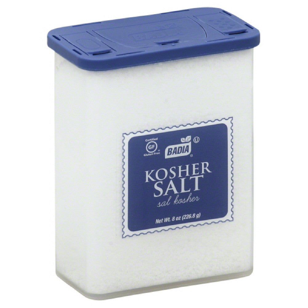 Badia Kosher Salt, 8 Oz (Pack of 12)