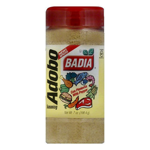 Badia Adobo with Pepper, 7 OZ (Pack of 12)