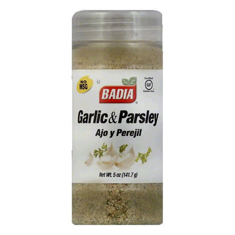 Badia Garlic with Parsley Ground, 5 OZ (Pack of 12)