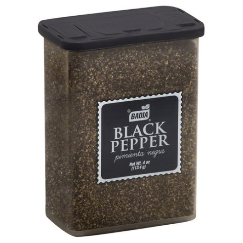 Badia Black Pepper, 4 Oz (Pack of 12)