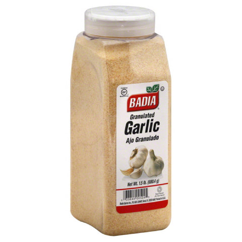Badia Granulated Garlic, 24 Oz (Pack of 6)