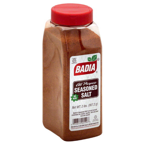 Badia All Purpose Seasoned Salt, 32 Oz (Pack of 6)