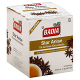 Badia Star Anise Tea Bags, 10 Bg (Pack of 20)