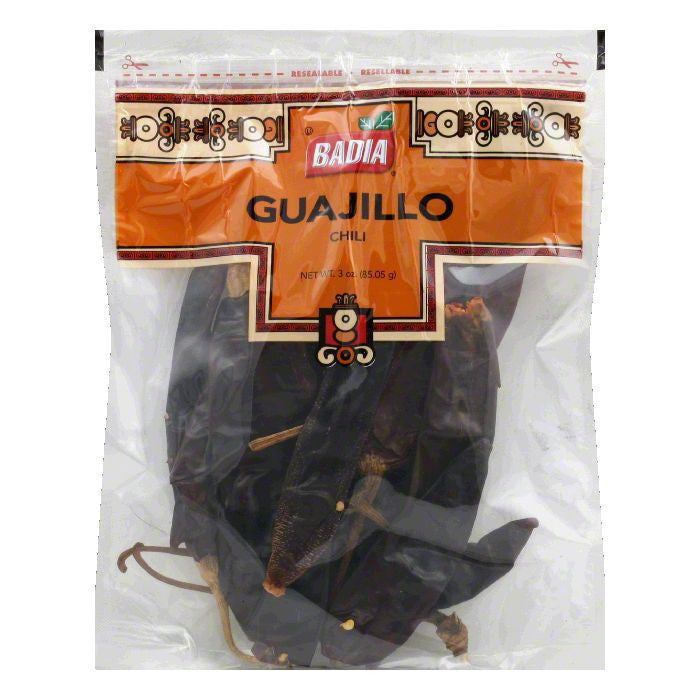 Badia Guajillo Chili Pods, 3 OZ (Pack of 12)