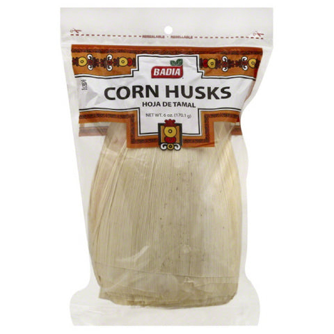 Badia Corn Husks, 6 Oz (Pack of 12)