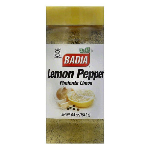 Badia Lemon Pepper Seasoning, 6.75 OZ (Pack of 12)