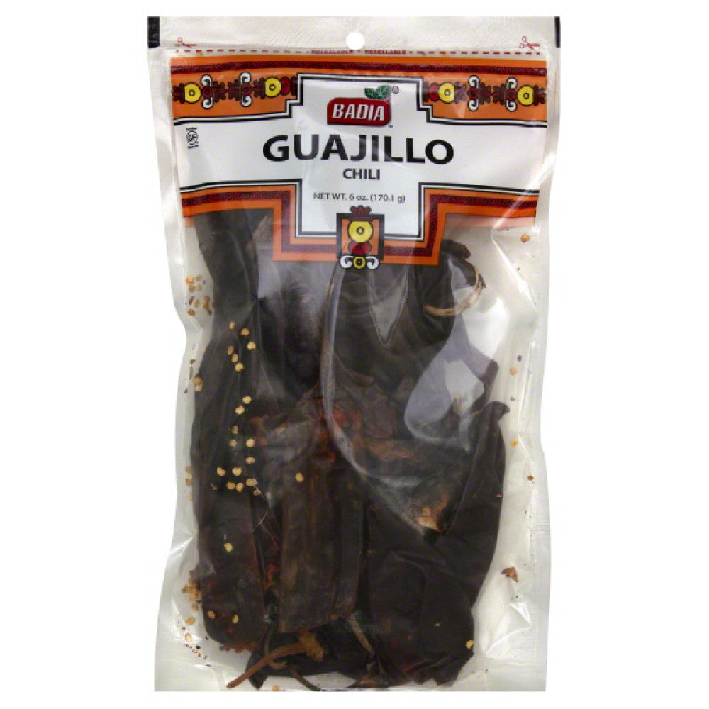 Badia Guajillo Chili, 6 Oz (Pack of 12)