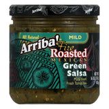 Arriba Salsa Mild Green, 16 OZ (Pack of 6)