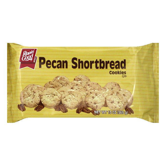 Rippin Good Cookie Pecan Shortbread, 13 OZ (Pack of 12)
