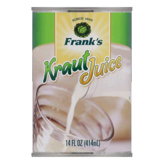 Frank's Juice Kraut, 14 FO (Pack of 12)