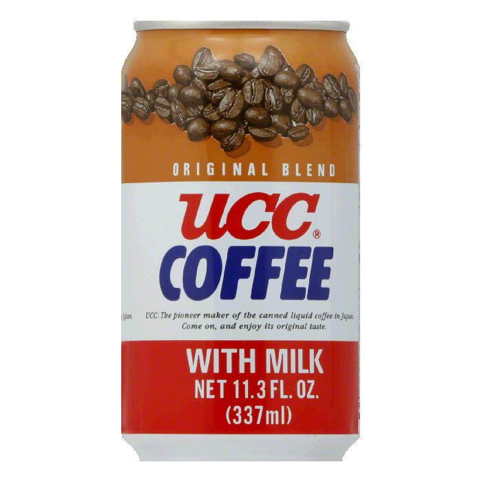 UCC Ready to Drink Original Blend Coffee, 11.3 FO (Pack of 24)
