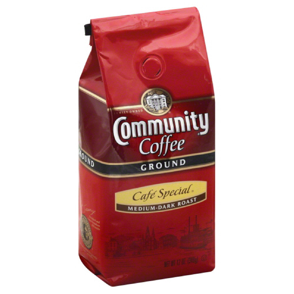 Community Cafe Special Medium-Dark Roast Ground Coffee, 12 Oz (Pack of 6)