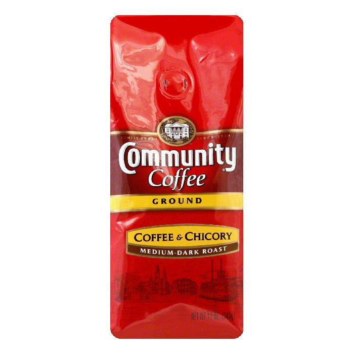 Community Coffee New Orleans Ground Coffee, 12 OZ (Pack of 6)