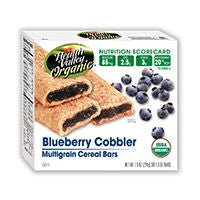 Health Valley Organic Multigrain Blueberry Cobbler Cereal Bars, 7.9 OZ (Pack of 6)