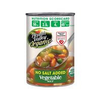 Health Valley No Salt Added Organic Vegetable Soup, 15 Oz (Pack of 12)
