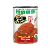 Health Valley No Salt Added Organic Tomato Soup, 15 Oz (Pack of 12)