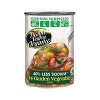Health Valley Soup 14 Garden Veggies Fat Free, 15 OZ (Pack of 12)