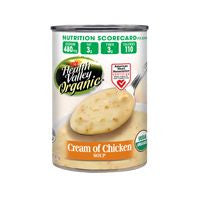 Health Valley Organic Cream of Chicken Soup, 14.5 OZ (Pack of 12)