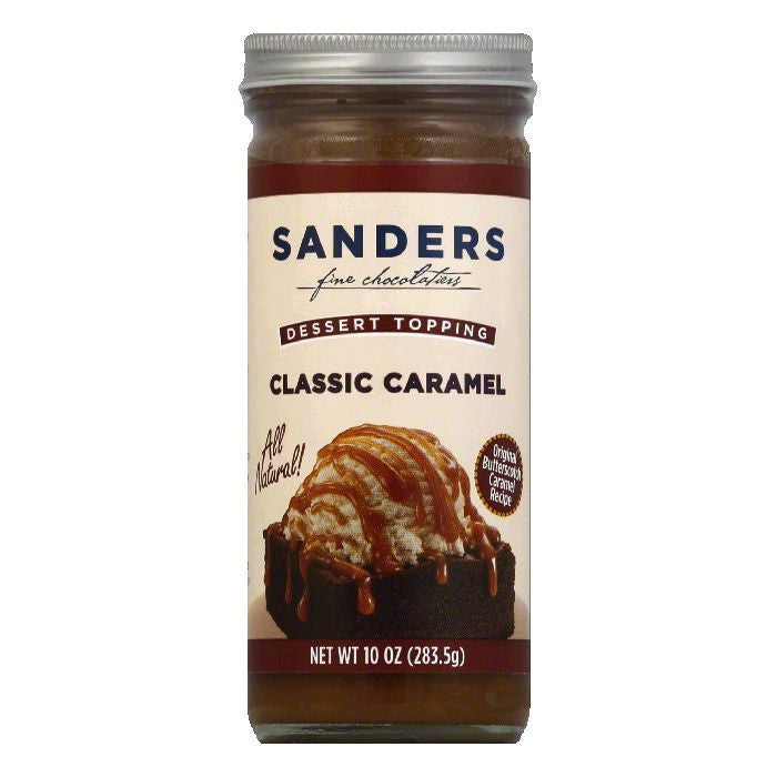 Sanders Butterscotch Caramel Topping, 10 OZ (Pack of 6)