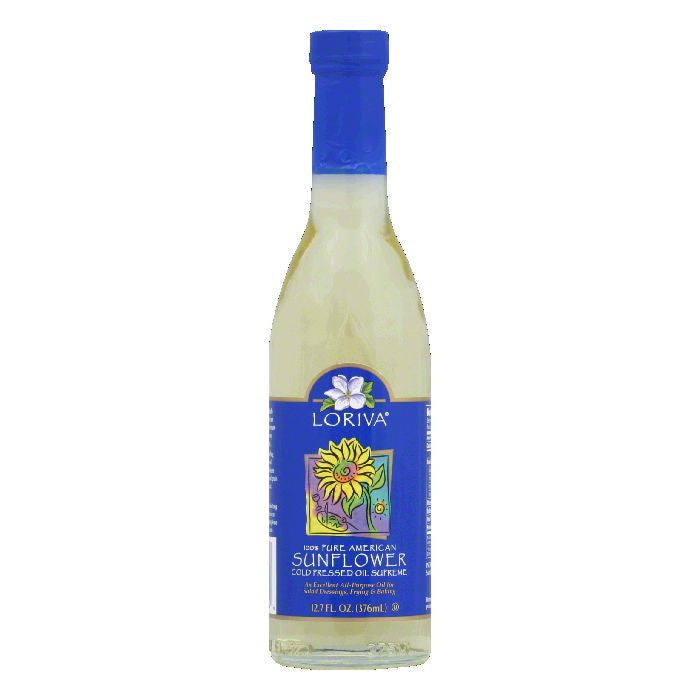 Loriva Oil Sunflower, 12.7 OZ (Pack of 6)