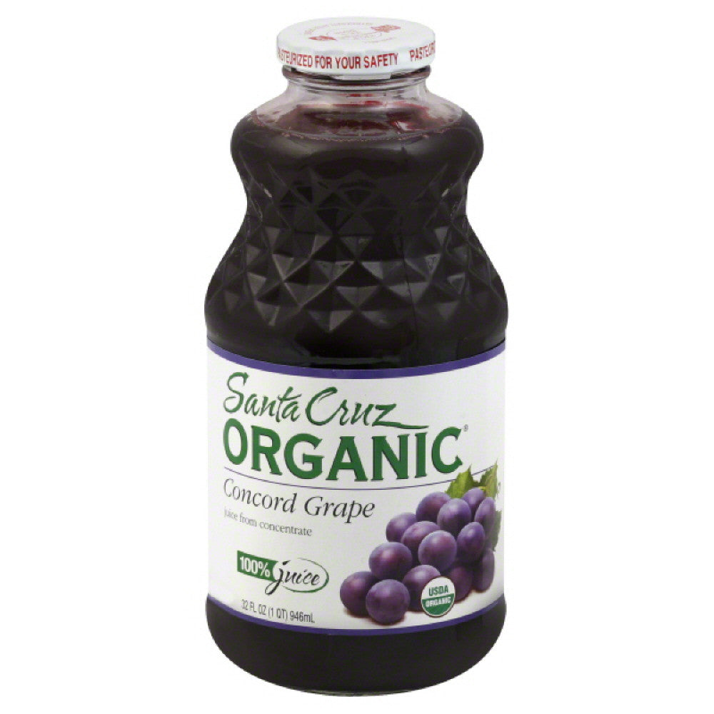 Santa Cruz Concord Grape Juice, 32 Fo (Pack of 6)