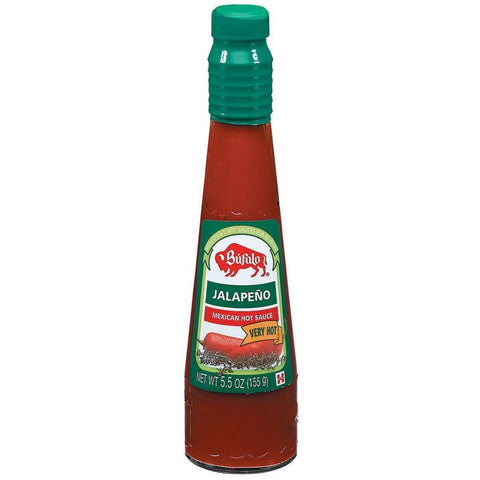 Bufalo Jalapeno Very Hot Mexi Hot Sauce 5.5 Oz   (Pack of 12)