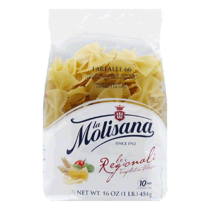 La Molisana Farfalle, 16 OZ (Pack of 12)